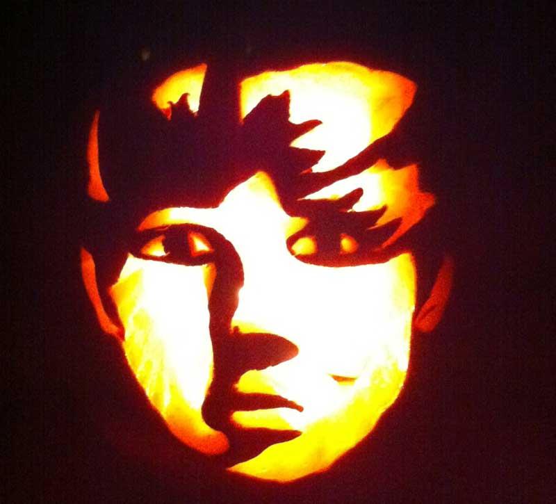 Justinbieber pumpkin carving pattern