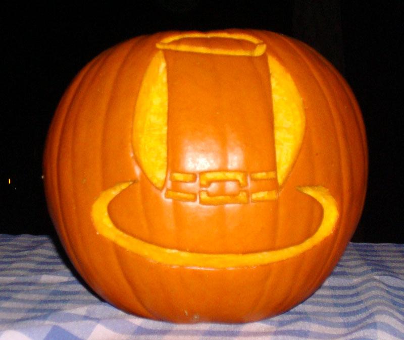 Shrek printable pumpkin template