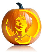 Twilight Alice Pumpkin Stencil