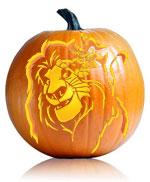Lion King Pumpkin Mufasa Pumpkin Pattern