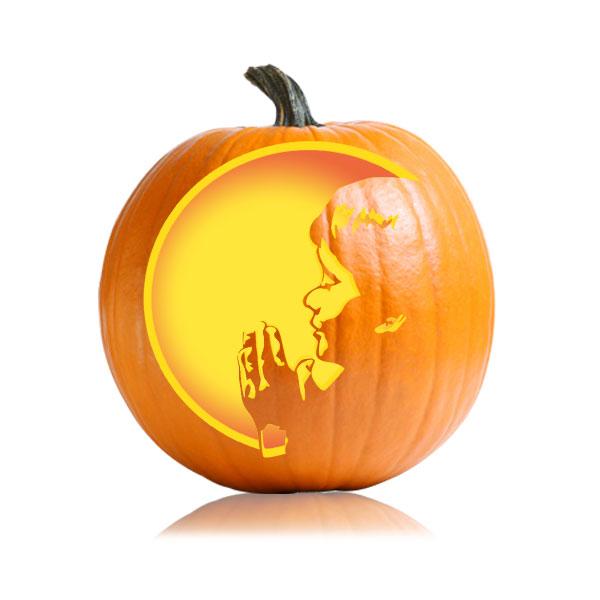 Child S Prayer Thanksgiving Pumpkin Stencil