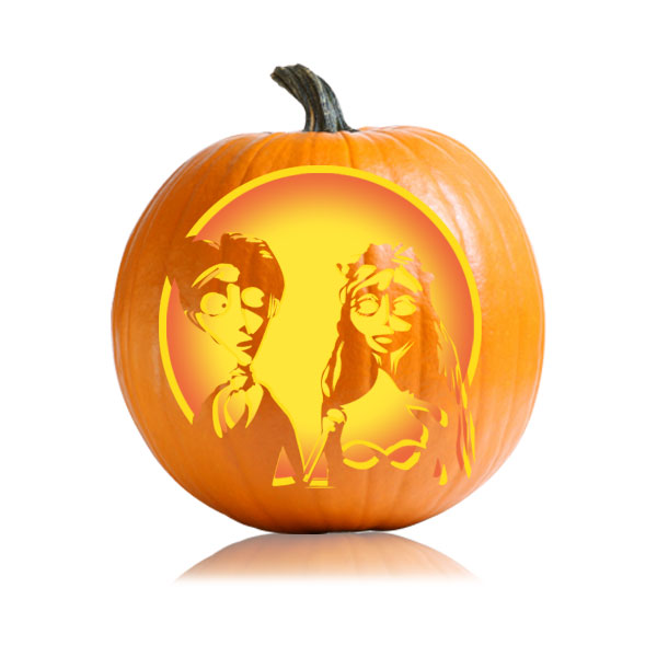 Corpse Bride Pumpkin Carving Stencil Ultimate Pumpkin