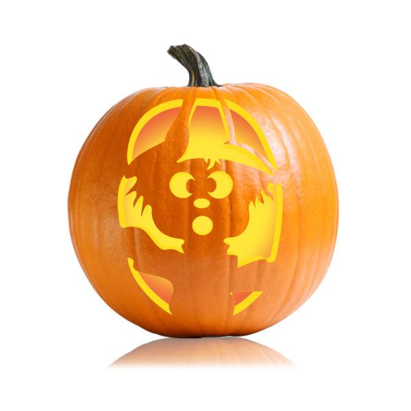 Cute scarecrow pumpkin stencil ultimate stencils