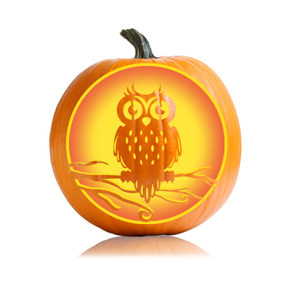halloween owl pumpkin pattern ultimate pumpkin stencils