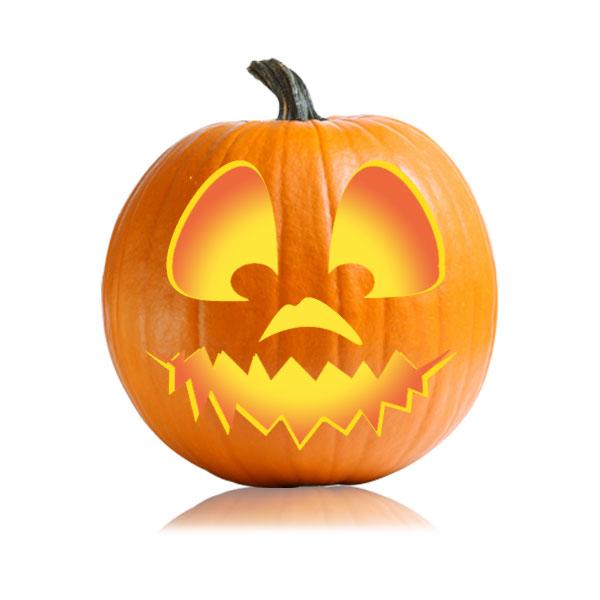 Jack O Lantern Pumpkin Eyes