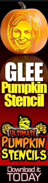 Glee Pumpkin Stencils