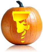 Hannibal Pumpkin Stencils