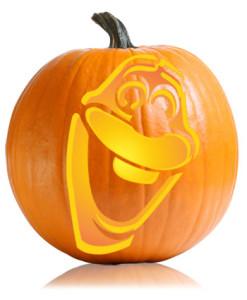 Olaf Pumpkin Stencil