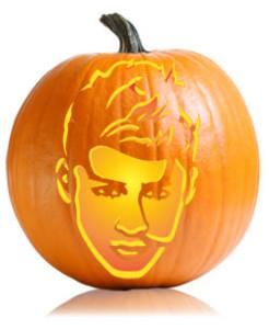 1D Pumpkin Stencils