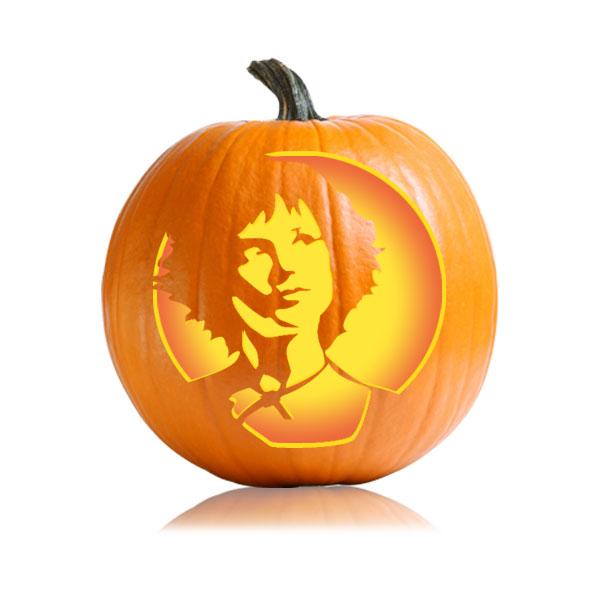Twilight Alice Pumpkin Stencil