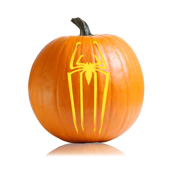 Amazing Spiderman Pumpkin Pattern