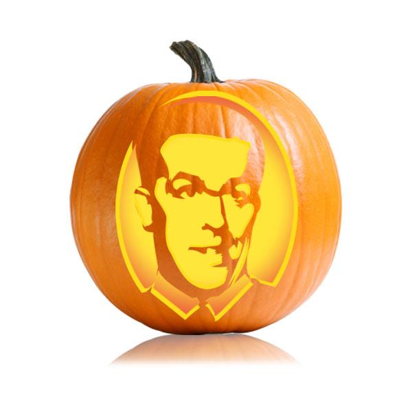 Andy Barnard Pumpkin Stencil