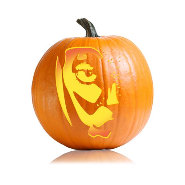 Avatar Pumpkin Carving Stencil