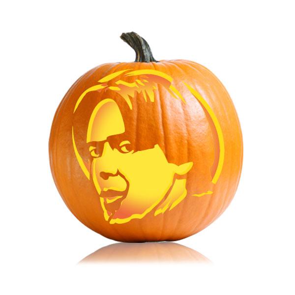 Donny Pumpkin Stencil