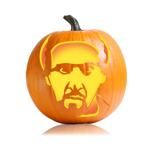 The Jesus Pumpkin Stencil