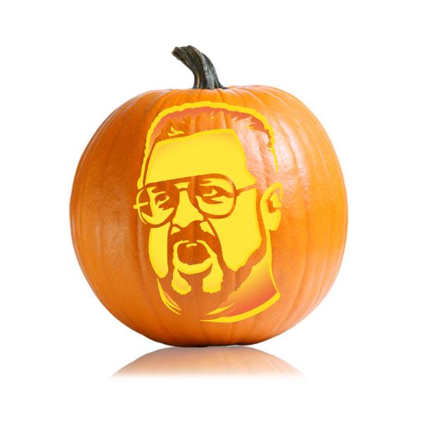 Walter Pumpkin Stencil