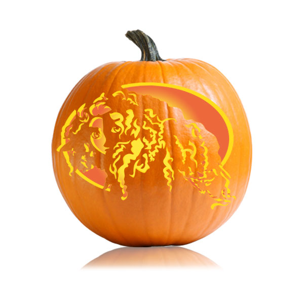 Merida - Brave Pumpkin Carving Pattern