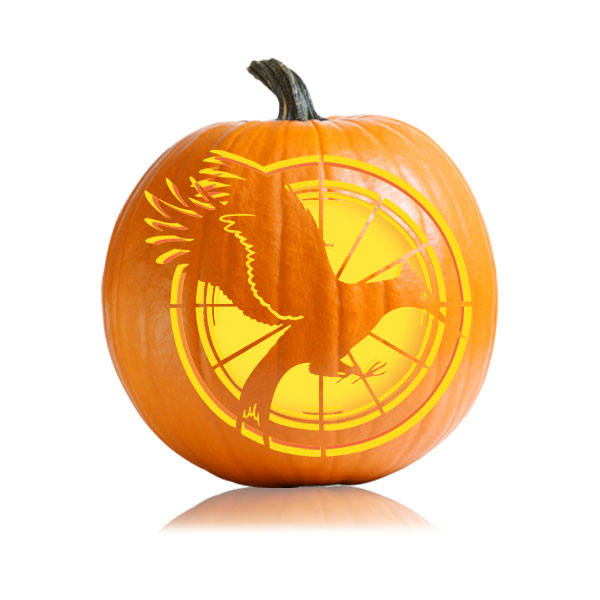 Catching Fire Hunger Games Pumpkin Pattern