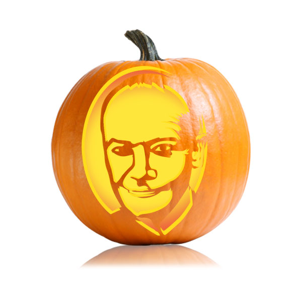 Creed Bratton Pumpkin Stencil