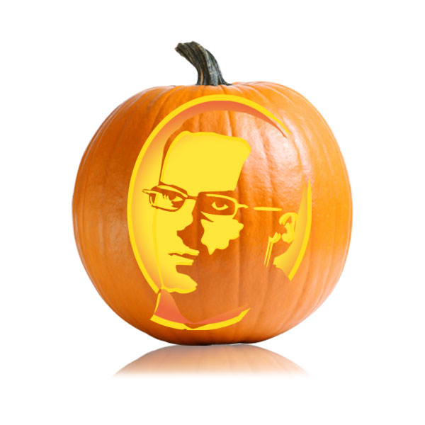 David Wallace Pumpkin Stencil