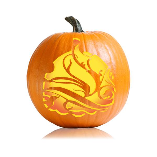 Decora Pumpkin Stencil
