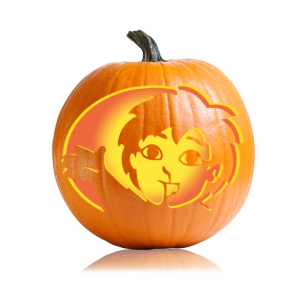 Diego - Pumpkin Stencil