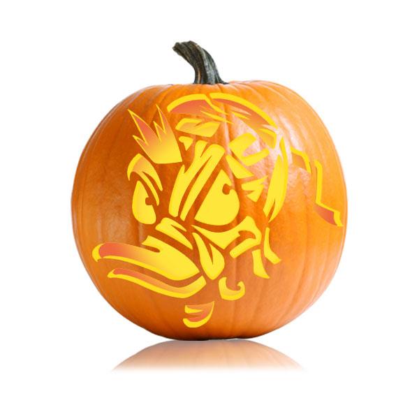 Donald Duck Mummy Pumpkin Pattern