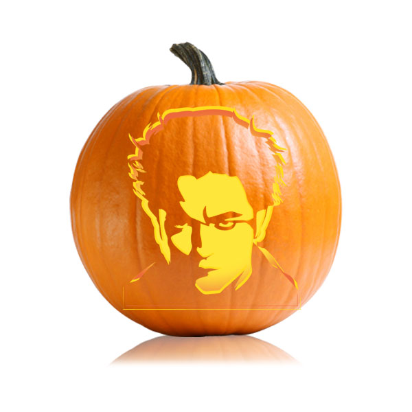Edward Twilight Pumpkin Stencil