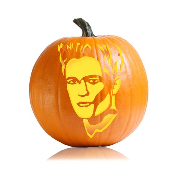 Edward Breaking Dawn Pumpkin Pattern