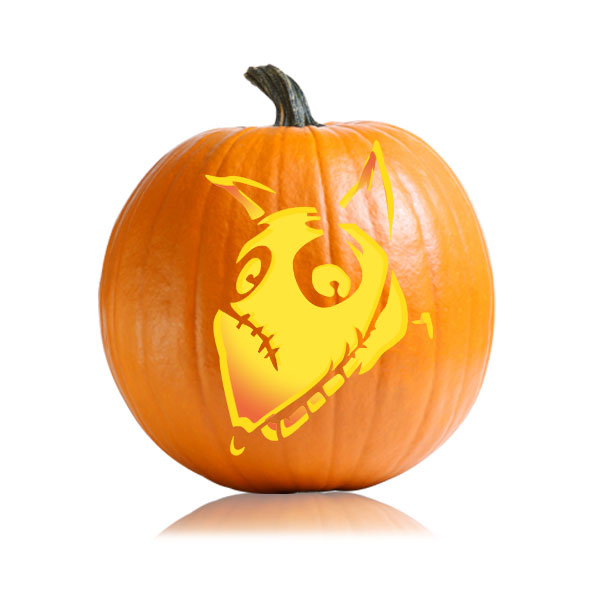 Frankenweenie Pumpkin Carving Pattern
