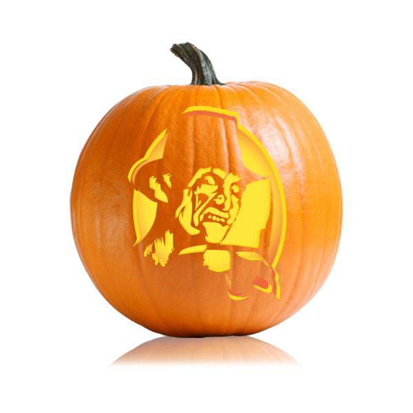 Freddy Krueger Pumpkin Stencil