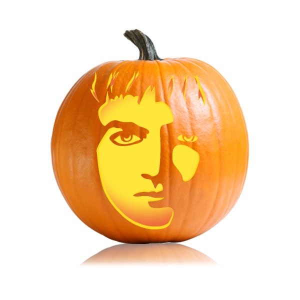 Joffrey Pumpkin Stencil