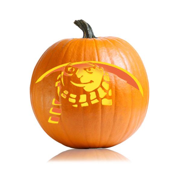Despicable Me - GRU Pumpkin Stencil