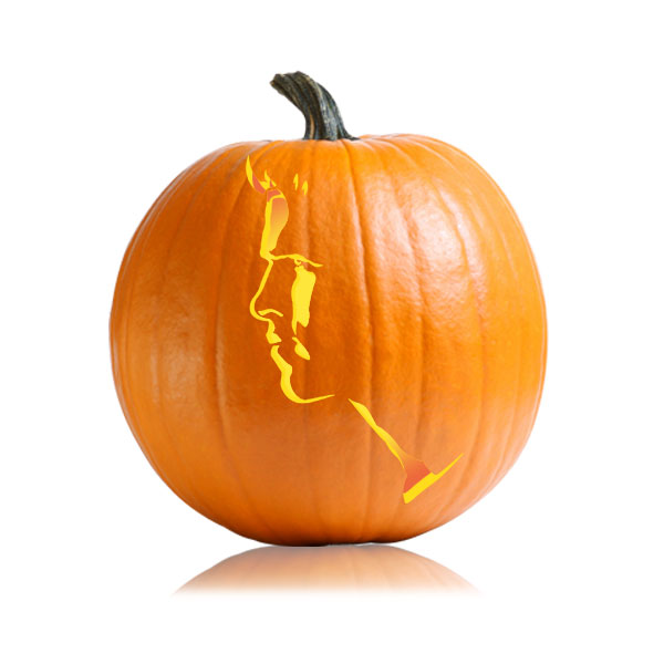 Gale Hunger Games Pumpkin Pattern