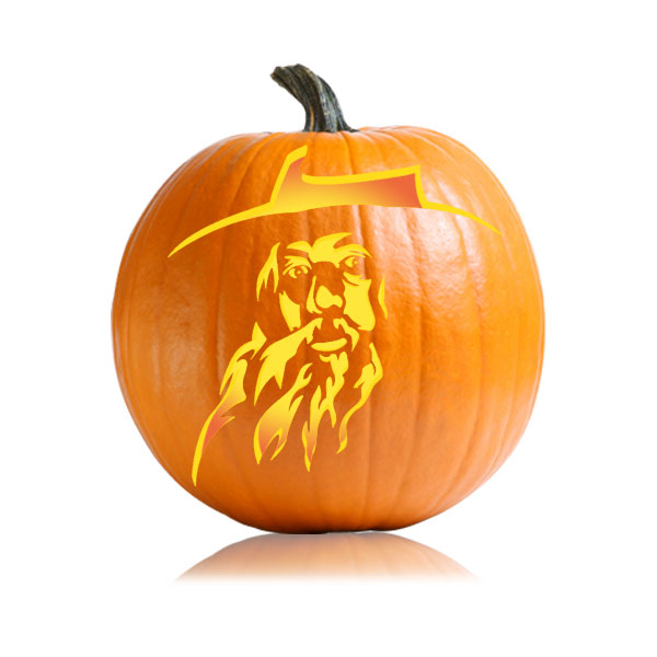 Gandalf Pumpkin Pattern