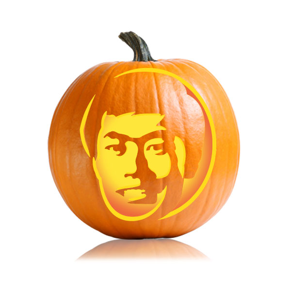 Young George Takei Pumpkin Pattern