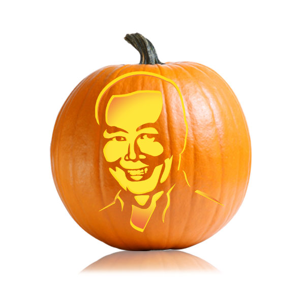 George Takei Pumpkin Pattern