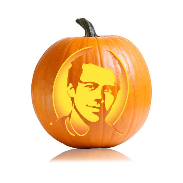 Finn Hudson Pumpkin Stencil