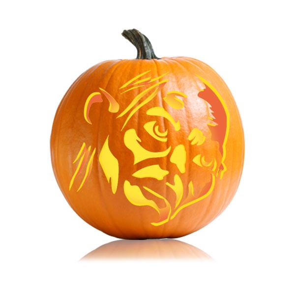 Gollum Pumpkin Pattern