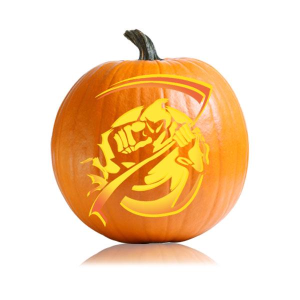 Grim Reaper Pumpkin Pattern