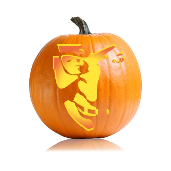 Hannibal Rising Pumpkin Stencil