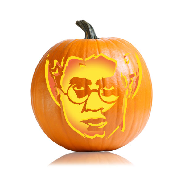 Harry potter pumpkin patterns harry potter pumpkin stencils for Harry potter pumpkin carving templates
