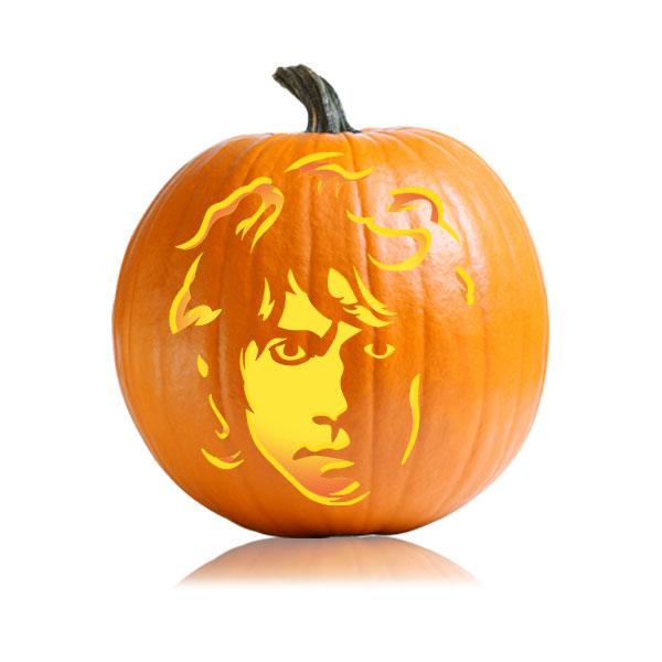 Bilbo Baggins Pumpkin Pattern