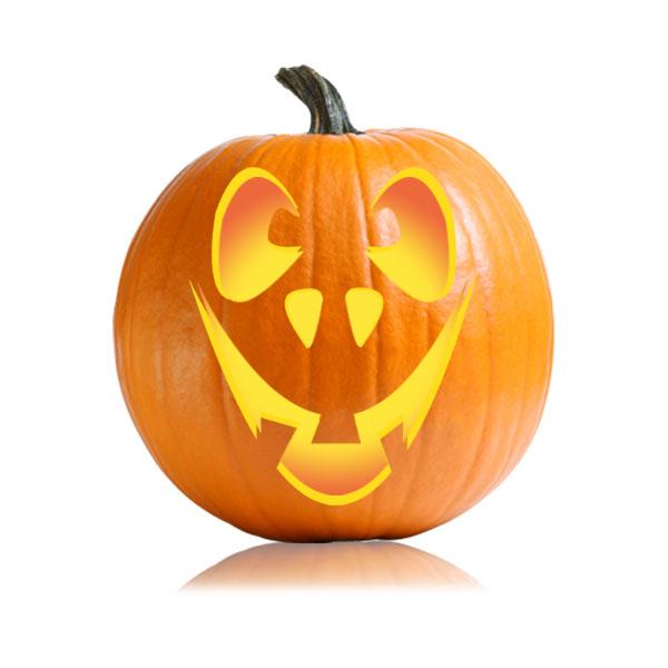 Funny Jackolantern Stencil - Ultimate Pumpkin Stencils