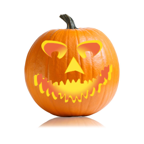 Big Face Jack-o-Lantern Pattern