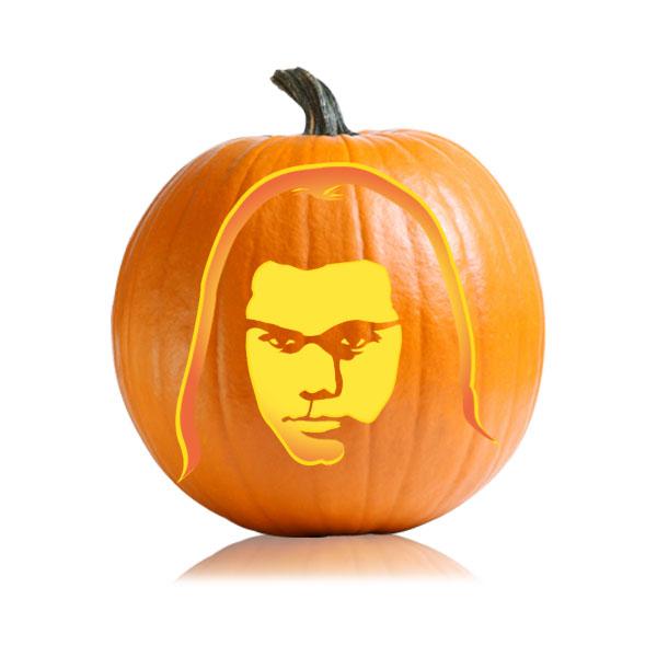 Jacob Twilight Pumpkin Stencil