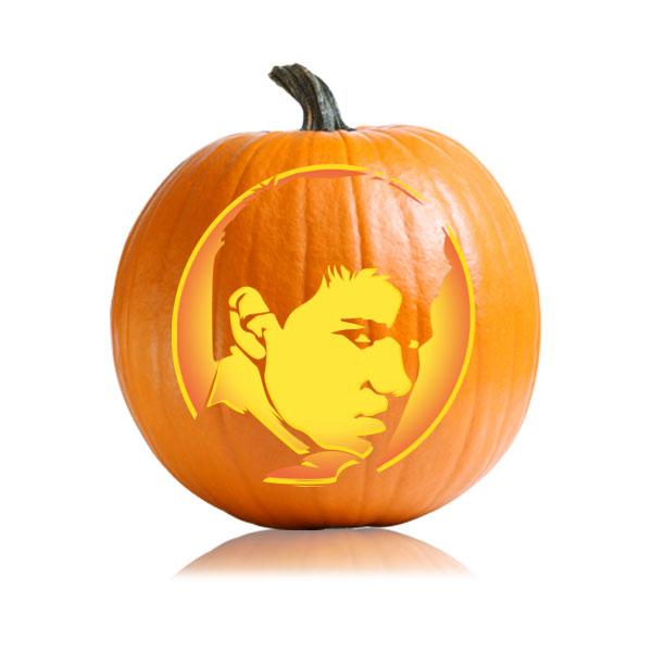 Jacob Eclipse Pumpkin Stencil