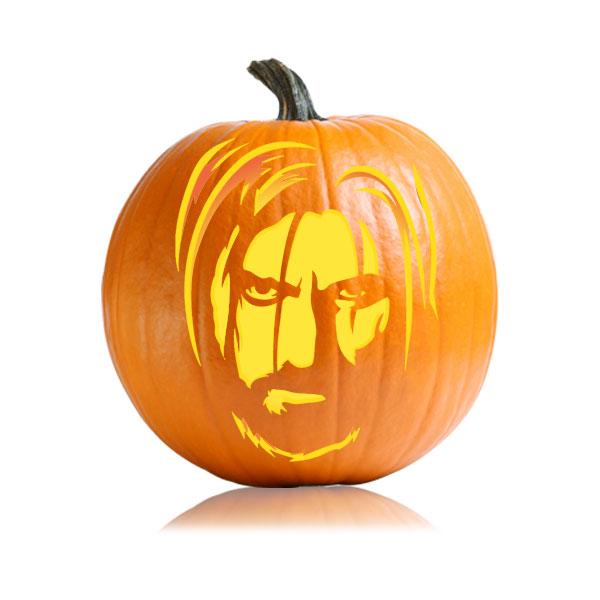 Jamie Lannister Pumpkin Stencil