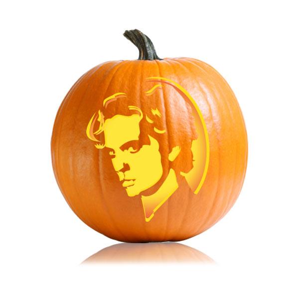Jasper Pumpkin Stencil