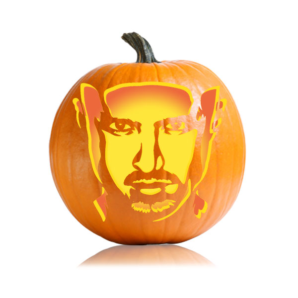 Jesse Pinkman Breaking Bad Pumpkin Pattern
